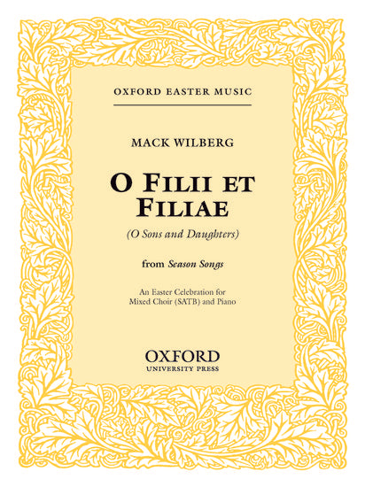 OUP-3861008 - Filii et filiae (An Easter Celebration): Vocal score Default title