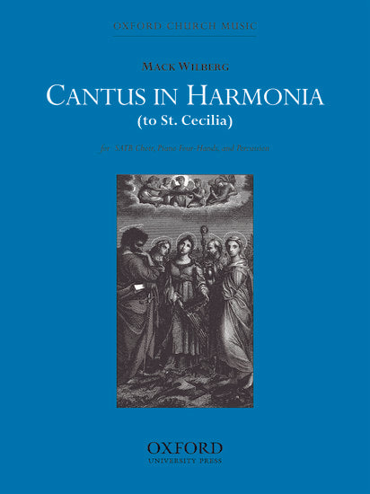 OUP-3861626 - Cantus in harmonia (to St Cecilia): Vocal score Default title