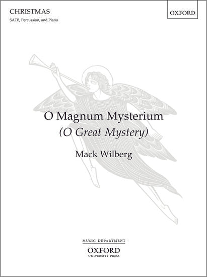 OUP-3862111 - O Magnum Mysterium (O Great Mystery): Vocal score - SATB, piano and percussion Default title