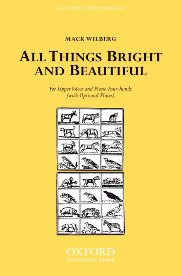 OUP-3864979 - All things bright and beautiful: Vocal score (piano 4 hands version) Default title