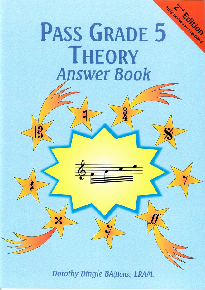 9780955395154 - Pass Grade 5 Theory Answer Book - 2nd edition Default title
