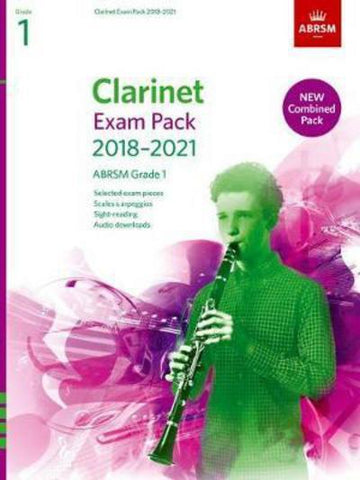 AB-48497948 - Clarinet Exam Pack 2018–2021, ABRSM Grade 1 Default title