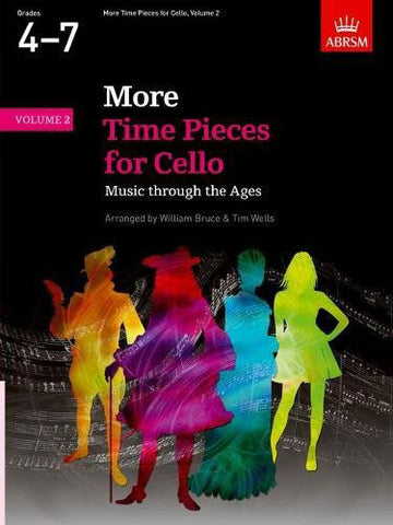 AB-48491632 - More Time Pieces for Cello, Volume 2 Default title