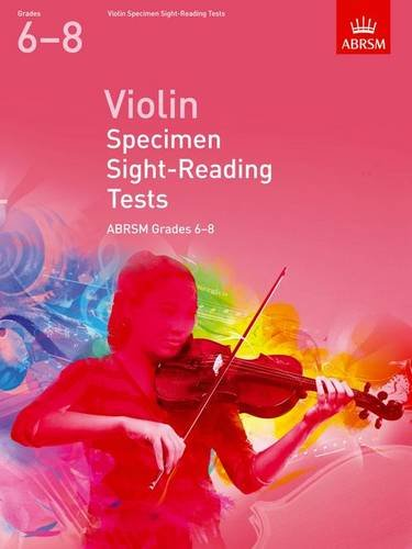AB-48493476 - Violin Specimen Sight-Reading Tests, ABRSM Grades 6–8 Default title