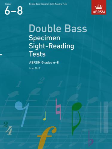 AB-48493599 - Double Bass Specimen Sight-Reading Tests, ABRSM Grades 6-8 Default title