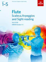 AB-48499027 - Flute Scales & Arpeggios and Sight-Reading, ABRSM Grades 1–5 Default title