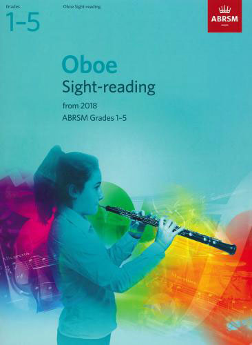 AB-48499812 - ABRSM: Oboe Sight-Reading Tests, Grades 1-5 from 2018 Default title