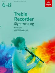 AB-48499867 - Treble Recorder Sight-Reading Tests, ABRSM Grades 6–8 Default title