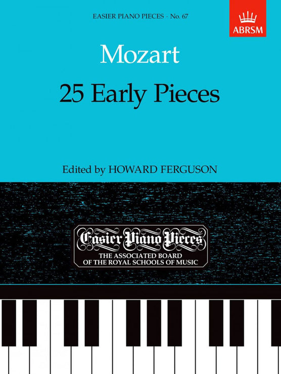 AB-54723581 - Mozart 25 Early Pieces Default title