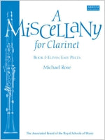 AB-54725028 - A Miscellany for Clarinet, Book I Default title