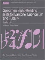 AB-54728579 - Specimen Sight-Reading Tests for Bass Clef Brass, Grades 1–5 Default title