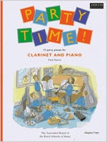 AB-54729217 - Party Time! 15 party pieces for clarinet and piano Default title