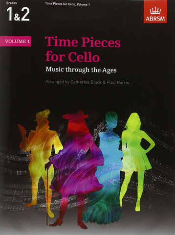 AB-54729484 - Time Pieces for Cello, Volume 1 Default title
