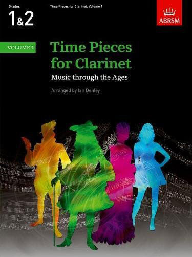 AB-60960451 - Time Pieces for Clarinet, Volume 1 Default title