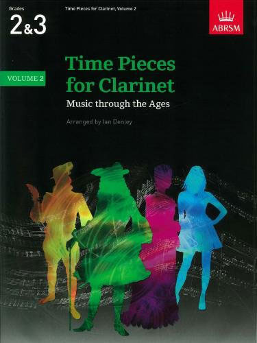 AB-60960468 - Time Pieces for Clarinet, Volume 2 Music Through the Ages In 3 Volumes Default title