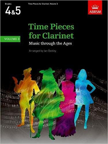 AB-60960475 - Time Pieces for Clarinet, Volume 3 Default title