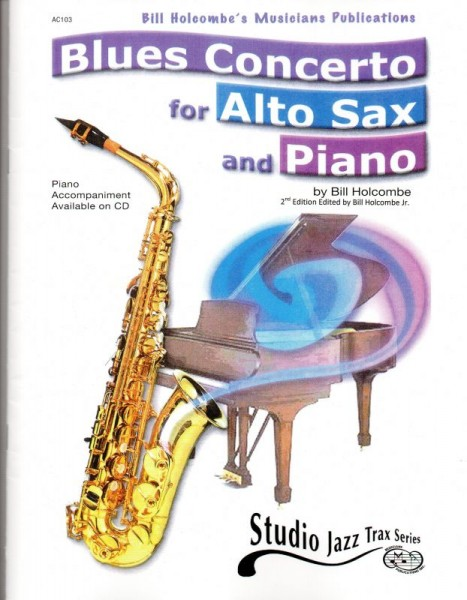 AC103 - Blues Concerto for Alto Sax and Piano Default title