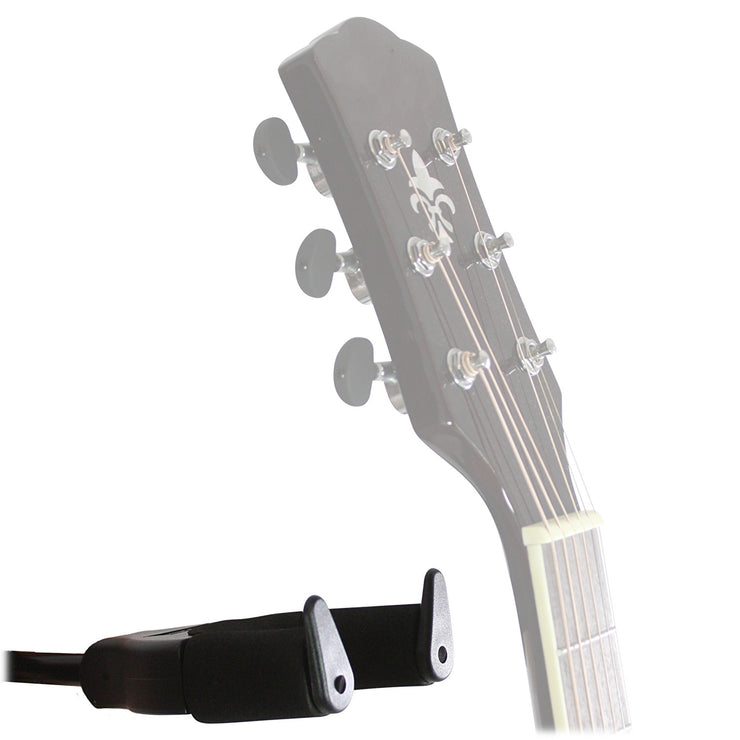 AGS32 - Wall mounted universal hanger with auto grab - holds all guitars Default title