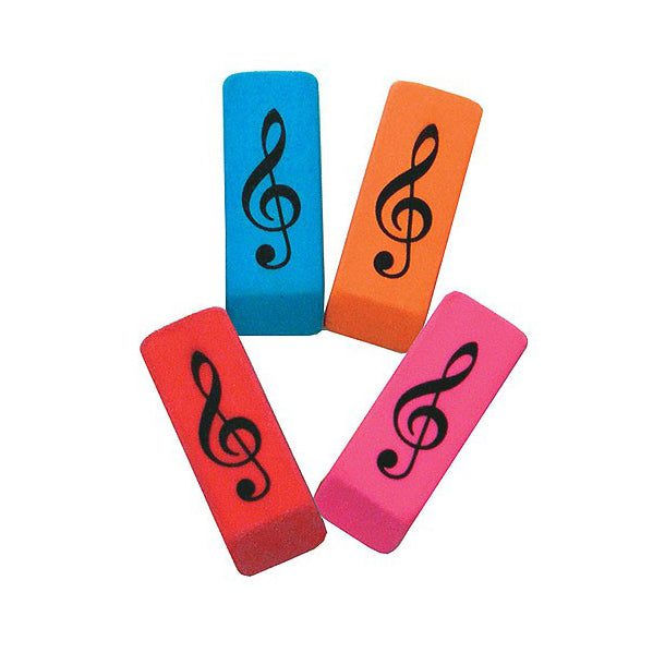 AIMG03125 - Eraser in treble clef wedge design Default title