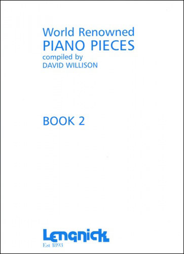 AL0047 - World Renowned Piano Pieces Book 2 Default title