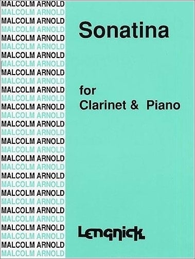 AL1000 - Arnold Sonatina for Clarinet Default title