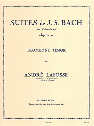 AL20326 - J.S. Bach Suites For Cello (Tenor Trombone) Default title
