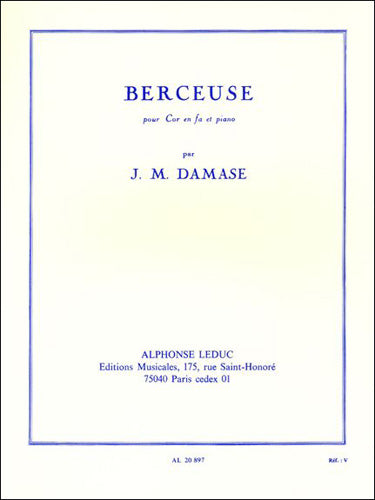 AL20897 - J. M. Damase: Berceuse (F Horn/Piano) Default title