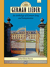 ALF17617 - Gateway to German Lieder Low Voice Default title