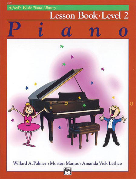 ALF2108 - Alfred's Basic Piano Lesson Book 2 Default title
