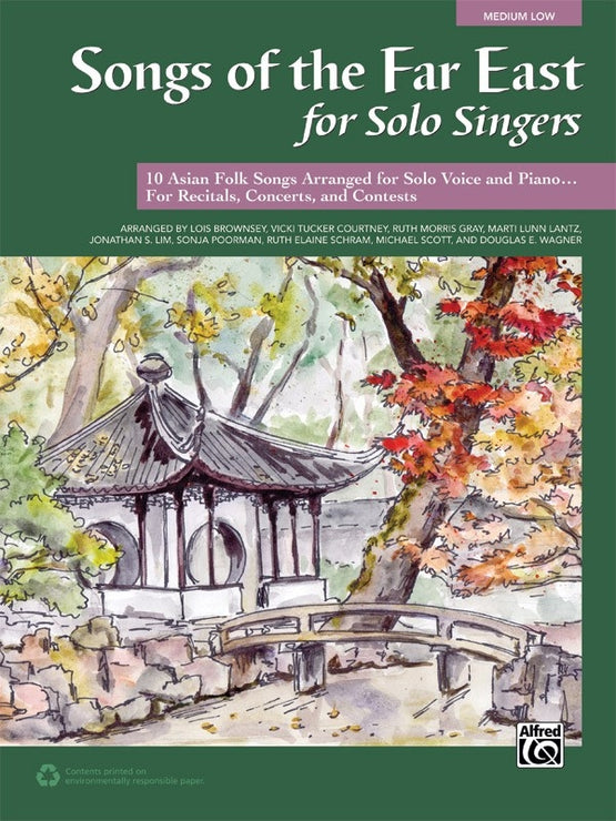 ALF43487 - Songs of the Far East for Solo Singers (Medium Low) Default title