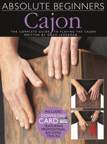 AM1007347 - Absolute Beginners Cajon Book and CD Default title
