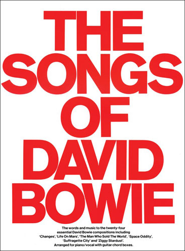 AM13343 - The Songs of David Bowie Default title