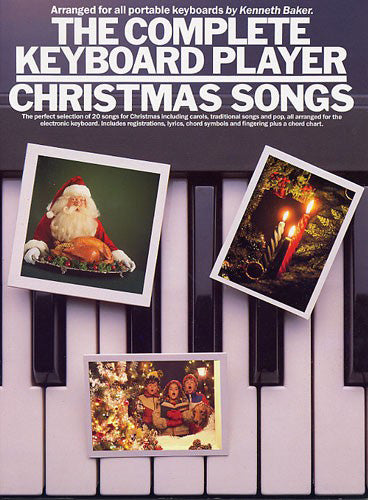 AM65954 - The Complete Keyboard Player: Christmas Songs Default title