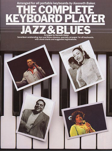 AM65970 - The Complete Keyboard Player: Jazz And Blues Default title