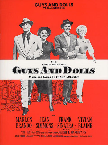 AM70061 - Frank Loesser: Guys And Dolls - Vocal Selections Default title