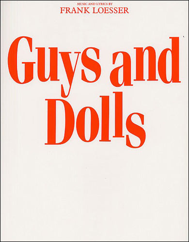 AM70079 - Frank Loesser: Guys and Dolls (Vocal Score) Default title