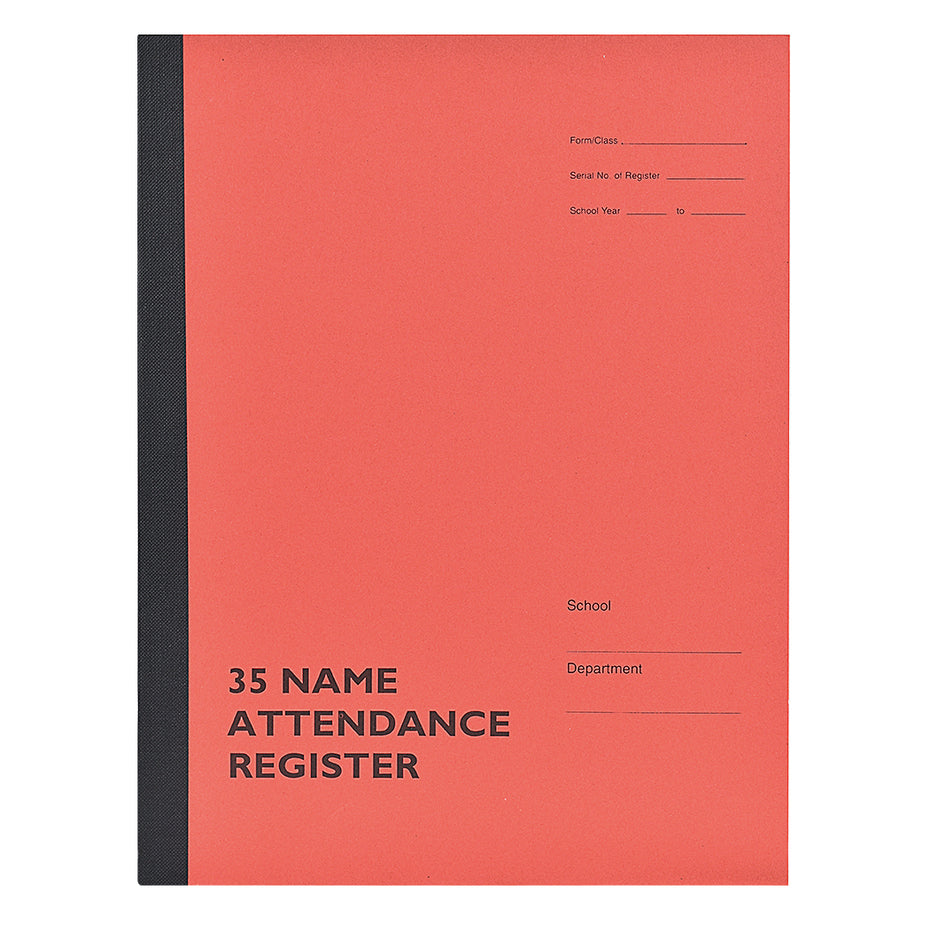 AR35-1 - Philip & Tacey School Attendance Register 35 Names Single Copy Default title