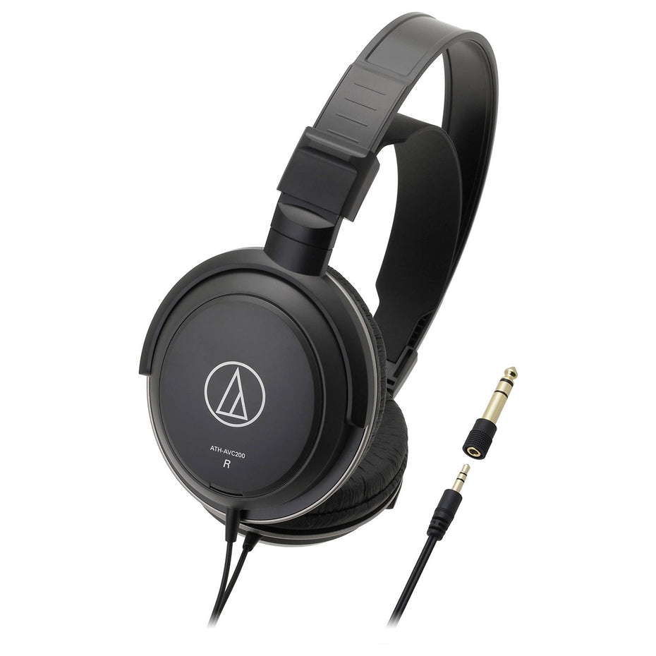 ATH-AVC200 - Audio Technica superior isolation dynamic stereo headphones Default title