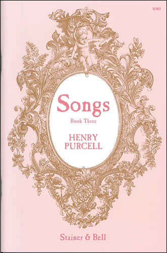 SB-B383 - Purcell Songs. Book 3 Default title