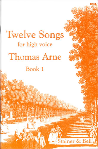 SB-B461 - Twelve Songs for High Voice. Book 1 Default title