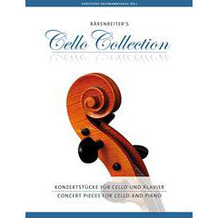 BA9695 - Concert Pieces for Cello and Piano Default title