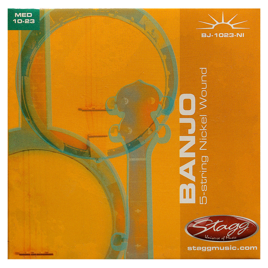 BJ1023NI - Stagg entry level banjo string set Default title