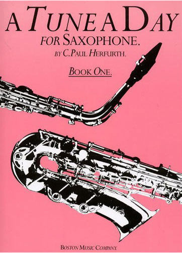 BM10223 - A Tune A Day for Saxophone Book One Default title