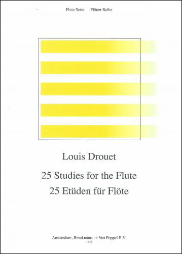 BRP1510 - 25 Studies for the Flute Default title