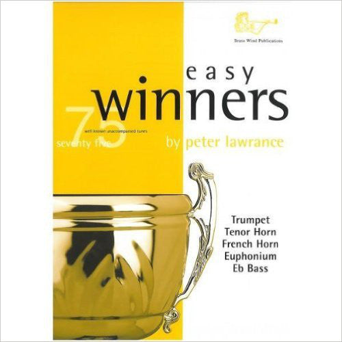 BW0124HCD - Easy Winners TC with Horns/Tuba CD Default title