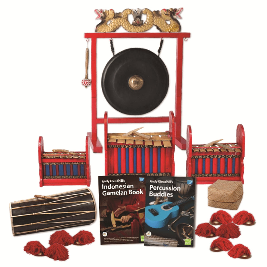 CP-IGB10B - Gamelan classroom pack - budget pack for 10 players Default title