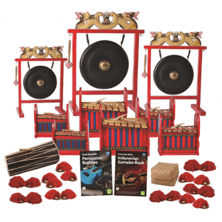 CP-IGB20B - Gamelan classroom pack - budget pack for 20 players Default title