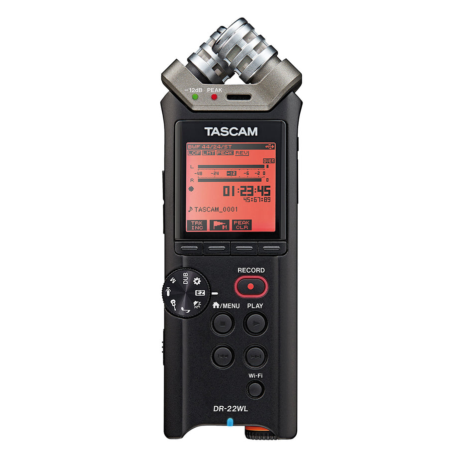 DR22WL - Tascam handheld stereo recorder with WIFI Default title