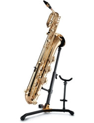 DS536B - Hercules DS536B baritone saxophone stand with alto/tenor saxophone peg Default title