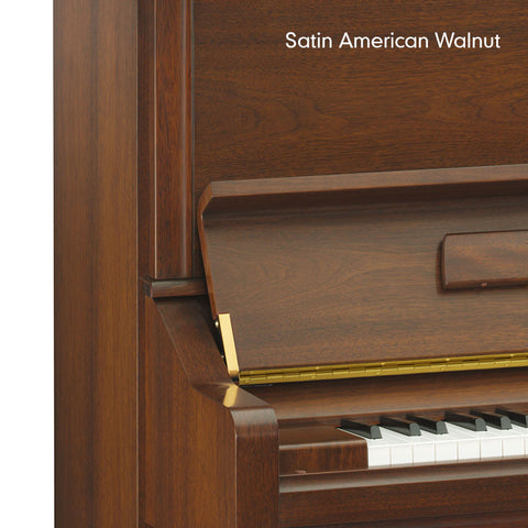 DU1EN-SAW - Yamaha DU1EN Disklavier ENSPIRE Upright Piano Satin American Walnut